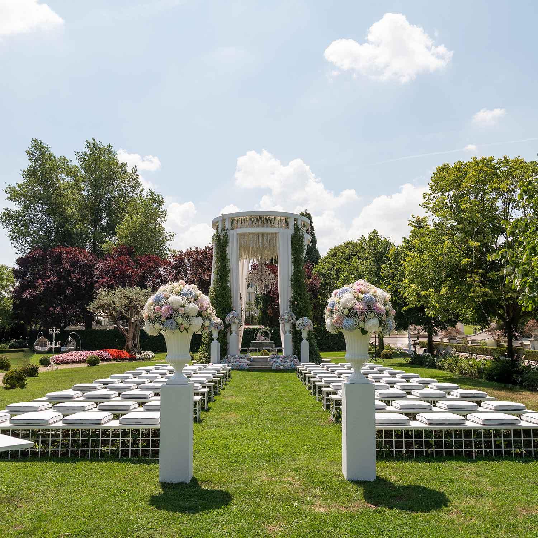 Matrimonio stile americano Campania viale