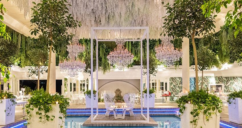ricevimenti campania piscina villa regina