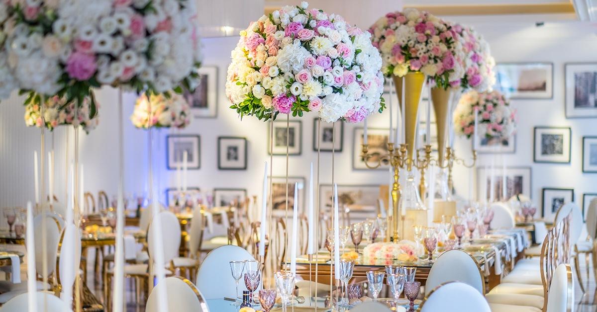 matrimonio romantico fiori