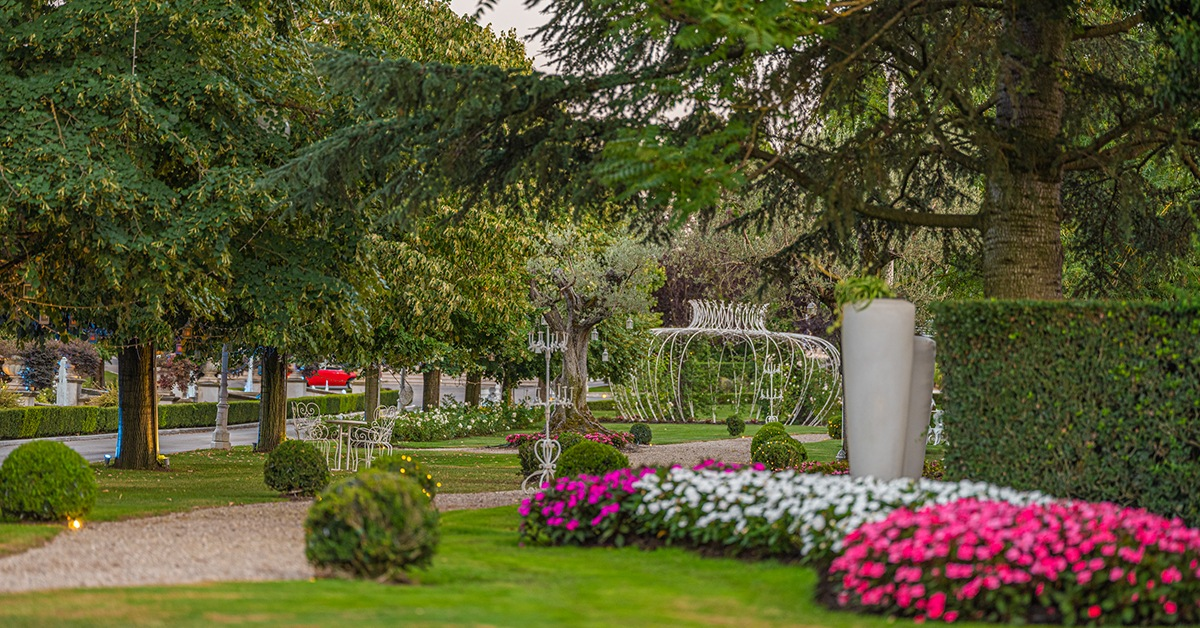 Location per matrimonio campania giardini