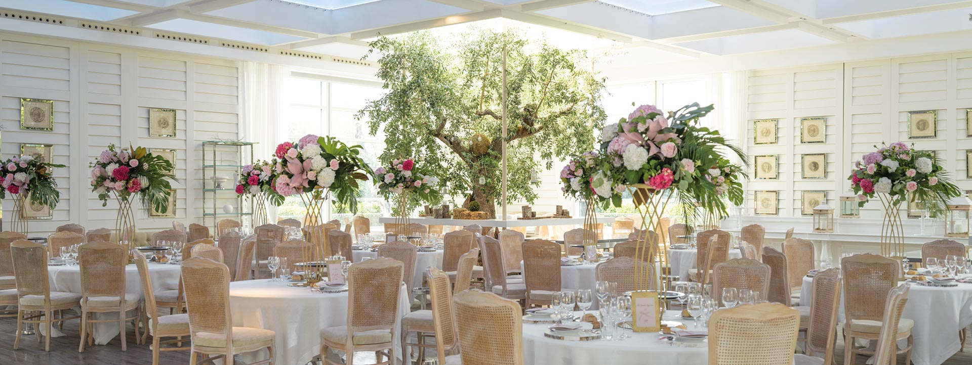 Ville con giardino per matrimoni